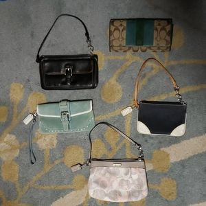 Coach wallet and wristlets
